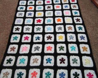 Crocheted Afghan - One of a Kind