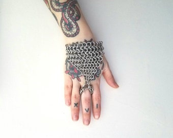 Chainmail Slave Bracelet