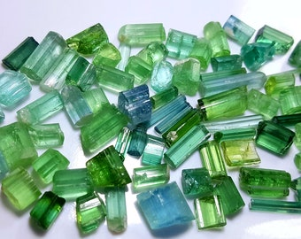 102 TOP Class Stunning Blue Green Color Tourmaline Crystal from Afghanistan