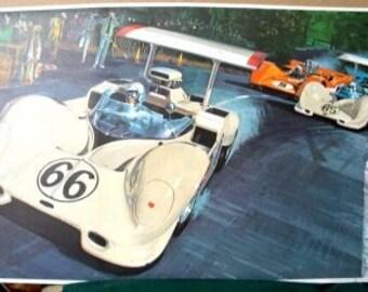 1967 Can Am Challenge Cup Series Race Bruce McLaren