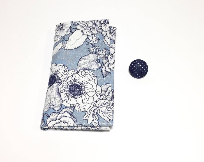 Blue Square and Button Pack