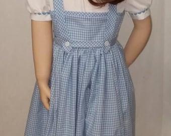 Dorothy  costume - Vintage style design   -- Made to order