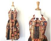 Vintage Halter Dress - ba...