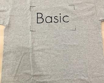 Basicdesigns vak logo t-shirt