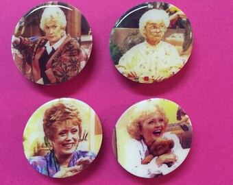 Thank You for Being a Magnet - Set of 4 Golden Girls Magnets