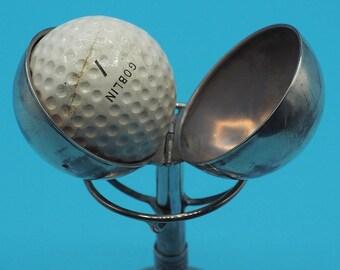 Vintage Sterling Silver Hole In One Golf Trophy Royal Porthcawl Golf Club 1936