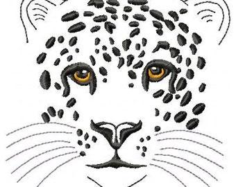 Leopard Machine Embroidery Design