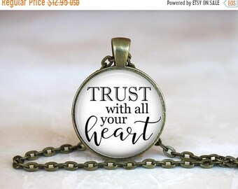 ON SALE - Faith Jewelry, Scripture Jewelry, Bible Verse, Quote Necklace, Inspirational, Quote Jewelry, Gifts for Her, Faith Necklace, Christ