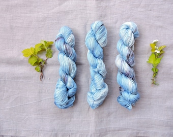Sky 4ply- Hand Dyed 100% Pima cotton