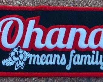 Ohana Family Patch