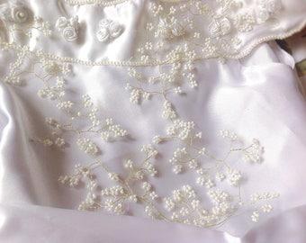 "Bridal Hair vine,10/15"" hair vine, bridal headpiece, gold hair vine, trailing hair vine, bridal hair accessory, bridesmaid, flowergirl, prom"