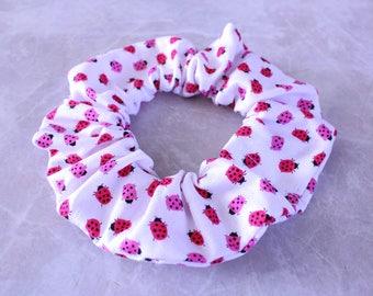 Little LadyBug Handmade Hair Scrunchie 100% Cotton