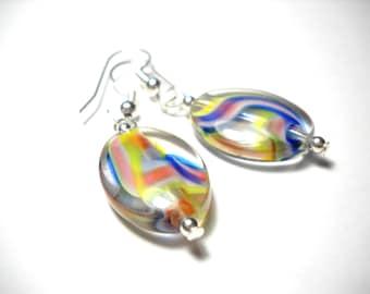 Pastel Swirl Earrings