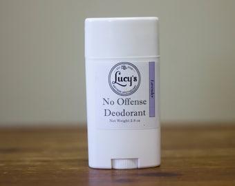 Natural Deodorant - Lavender - No Offense Deodorant