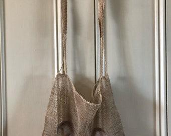 Vintage market net bag