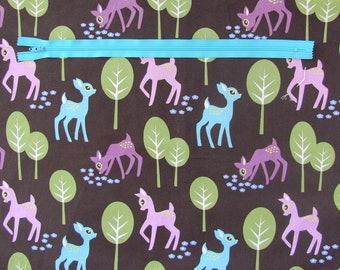 Custom Knitting bag, crochet project bag, Made to order zipper knitting project bag, Shawl bag, gift for Mom, Yarn storage bag