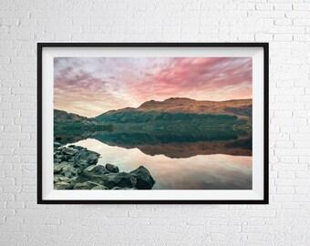 Loch Lomond Wall Art Print / Home Decor / Travel Poster / Scotland Print / Photographic Print / Fine Art Photography Print