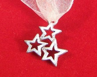 Star Cluster - Wedding Cake Pull Charm - 3 wishes will come true - (0994)