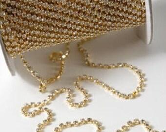 Rhinestones Silver Or Gold Trim