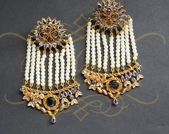 Jhumar earrings Asian wedding