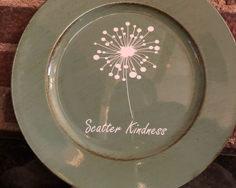 Scatter Kindness Charger Plate