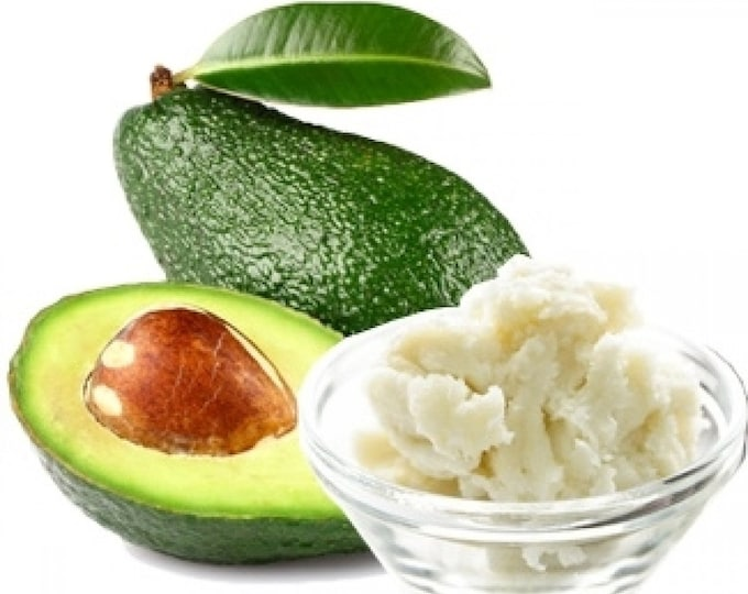 Raw Avocado Butter, 100 Percent Pure Avocado Butter, Body Butter,