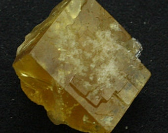Yellow cubic Fluorite, England - Mineral Specimen for Sale