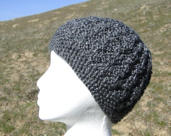 Easy knit and purl hat pattern
