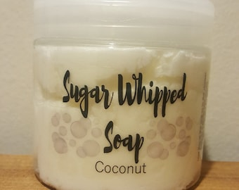 Sugar Whipped Soap - Coconut