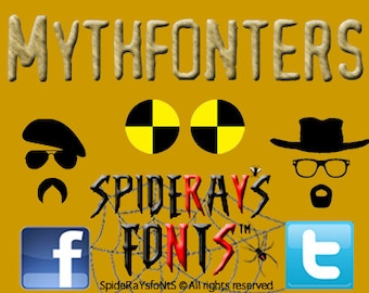 MYTHFONTERS Commercial Font