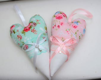 Handmade Gift Fabric Heart Tilda Present For Beloved Home Decor