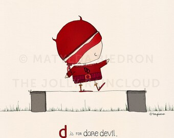 D is for Daredevil