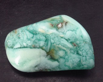 """Rare Green Tumbled Smithsonite Crystal From Namibia - 1.5"""""""