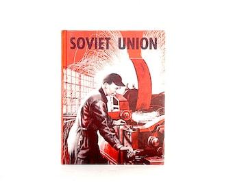 Soviet Union Children's Book - Vintage Soviet Union Pictures - Soviet Union Decor - Industrial Image - Cold War Era
