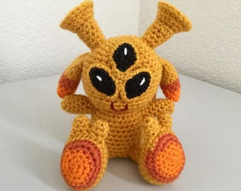 Alien baby pattern - crochet alien pattern - crochet pattern amigurumi -  crochet space pattern - crochet toy pattern Instant Download