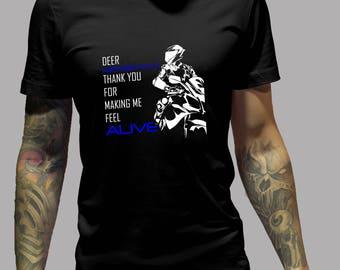 Dear Motorcycle Shirt #R