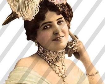 PNG Ladies Digital Collage Sheet Ladies No. 2 (Sheet no. L2) Instant Download