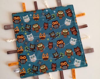 Taggy 'Owls' cotton