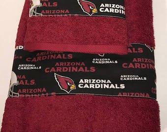 Arizona Cardinals Football Towel Set