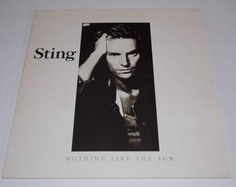 Near Mint Vinyl! 1987 - Sting - Nothing Like The Sun - Double LP Vinyl Record Album - 80's / Jazz / Rock / The Police