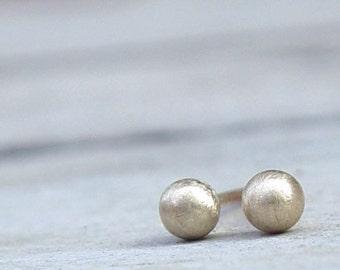 Tiny Gold Stud Earring, Gold Stud Earrings, Tiny Gold Studs, Gold Stud Earring,  Gold Earring Studs, Gold Stud Earring