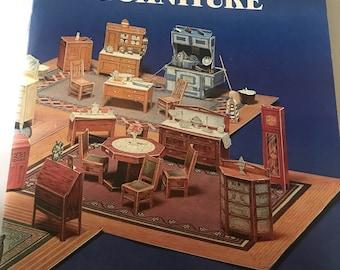 Cut &Assemble Paper Dollhouse Furniture