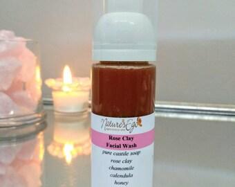 Rose Clay Facial Wash
