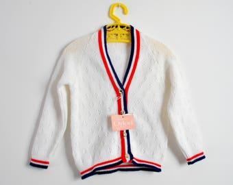 Toddler Cardigan, Kids Vintage Cardigan, Girls Cardigan, Boys Cardigan, Vintage Cardigan, Vintage Kidswear, Kids Sweater