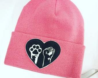Animal and Human Liberation Vegan Hat made in Canada