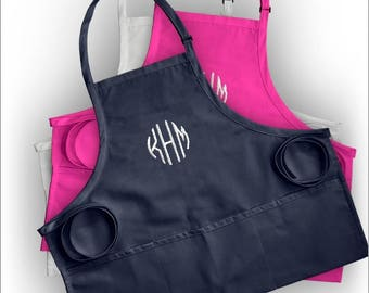 Personalized Woman's Apron with Monogram - 3984M