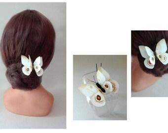 bun tie, hair pins, Haarnadeln, hat, Hut, wedding hair pin