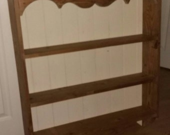 Old Pine Wall Shelves