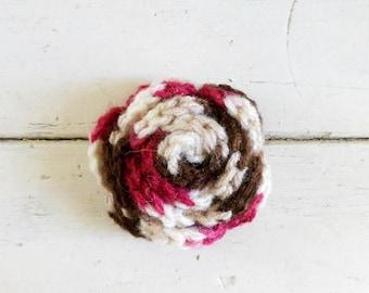 Crochet rose, crochet applique, rose for sale, applique rose, crochet patch, ready to ship, crochet embellishment, cute crochet, flower