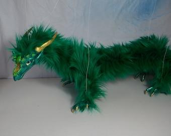 Green Dragon Marionette